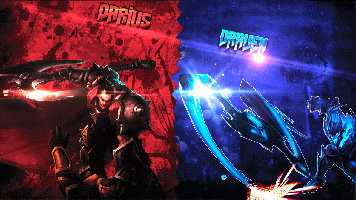 Darius and Draven Wallpaper Full HD by pedrovovp on DeviantArt