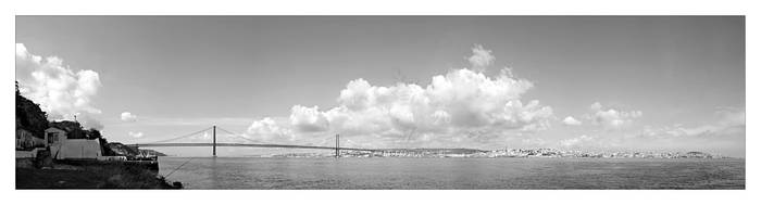 The Tejo river view by supertostaempo