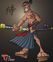 Samurai-coloured by Toineed