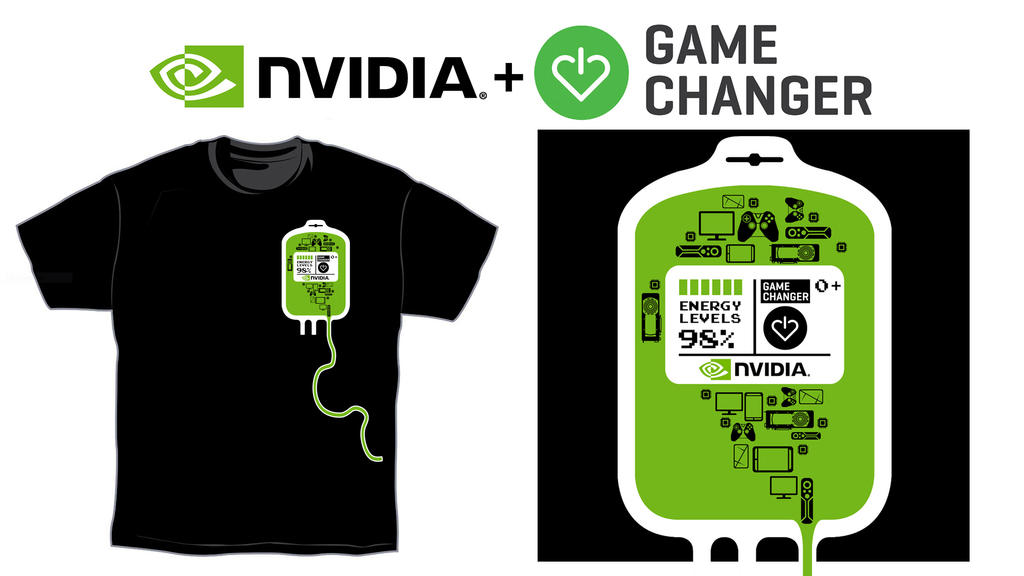 Nvidia t shirt for charity entry2 by toineed on deviantart for Shirts that donate to charity
