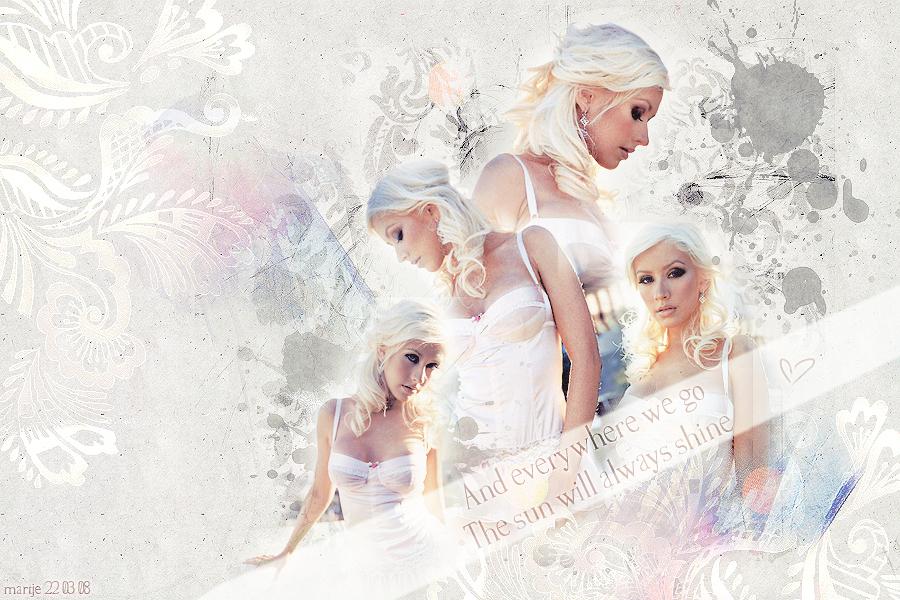 Christina Aguilera by in-a-daydream