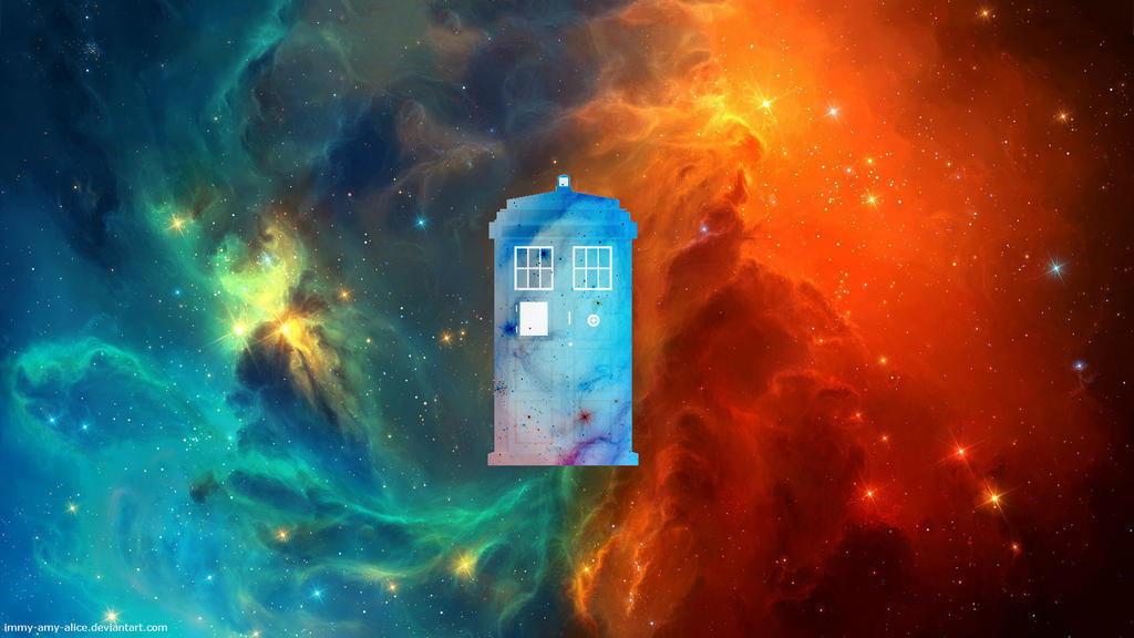 Doctor Who TARDIS wallpaper by immy-amy-alice ...