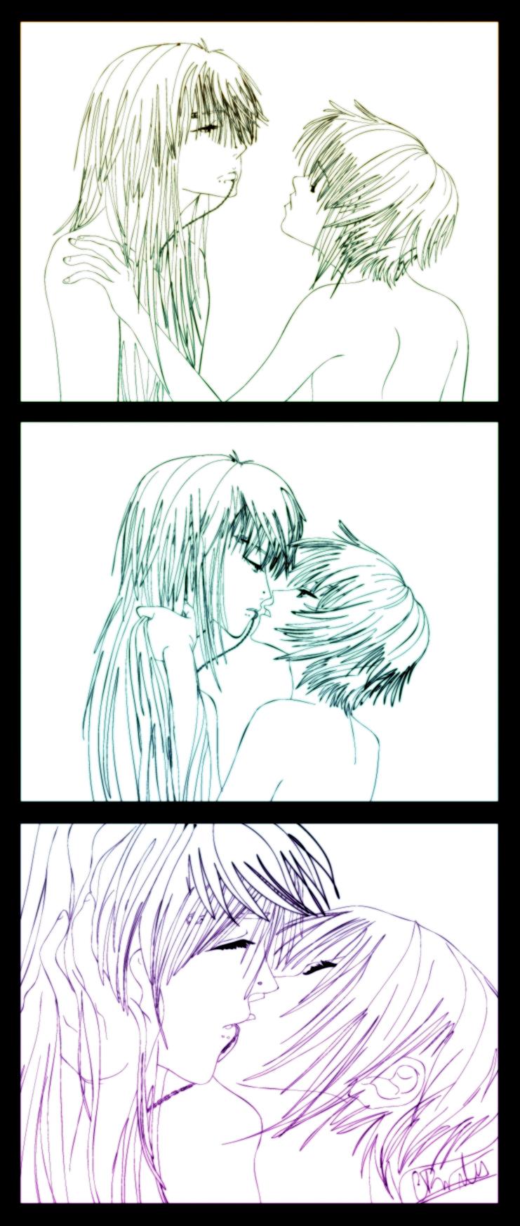 Kiss Sequence: AikaxSei by Ede1986