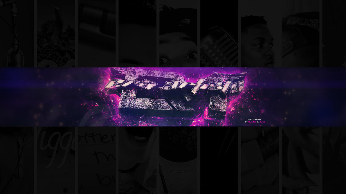 era artists yt banner dual with gurzee by indicadesigns on deviantart. Black Bedroom Furniture Sets. Home Design Ideas