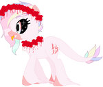 Raffle: Pastel Horror Pony {WINNER CHOSEN!} by strawberrymeopin