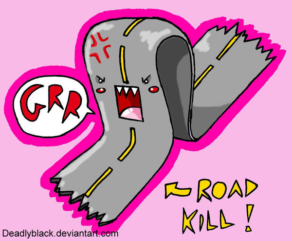 road kill... by deadlyblack