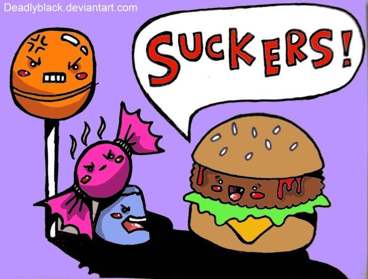 stupid burger by deadlyblack