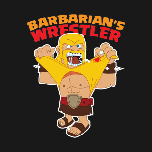 Barbarian's Wrestler only in Teepublic by namikpasha