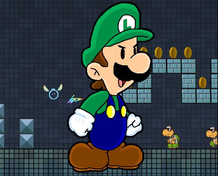 Luigi by JotheLugia-Tamer