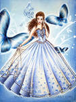 butterfly princess-dress design