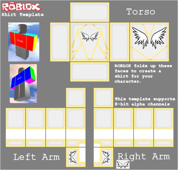 Guardian Angel Shirt For Roblox V 0 1 0 By Xfish32x On Deviantart