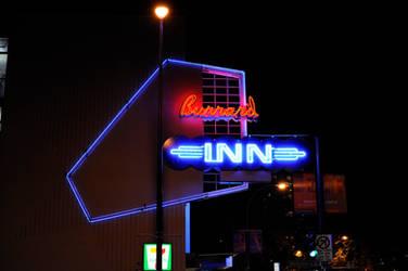 Burrard Inn , Neon Sign