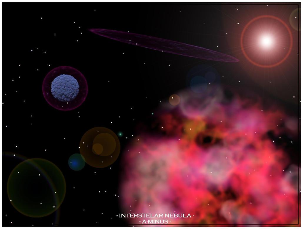 interstellar nebula - photo #37