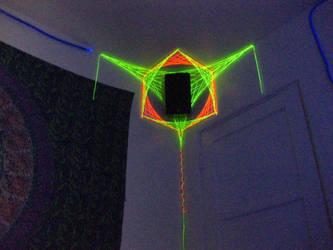 String Art Speaker Encasing by a-minus