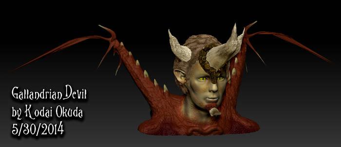 Devil Head by Kodai-Okuda