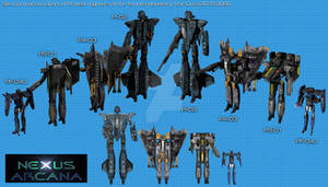 Protean Fighters of the 1st Interplanetary War