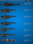 Colorado Class Destroyer development chart