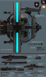 JDF Extra-Solar Expedition Fleet by Kodai-Okuda