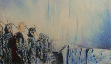 The Battle of Helm's Deep by MagicalFingers