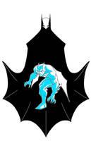 Batman Beyond Blue shadows by AndrewFroedge