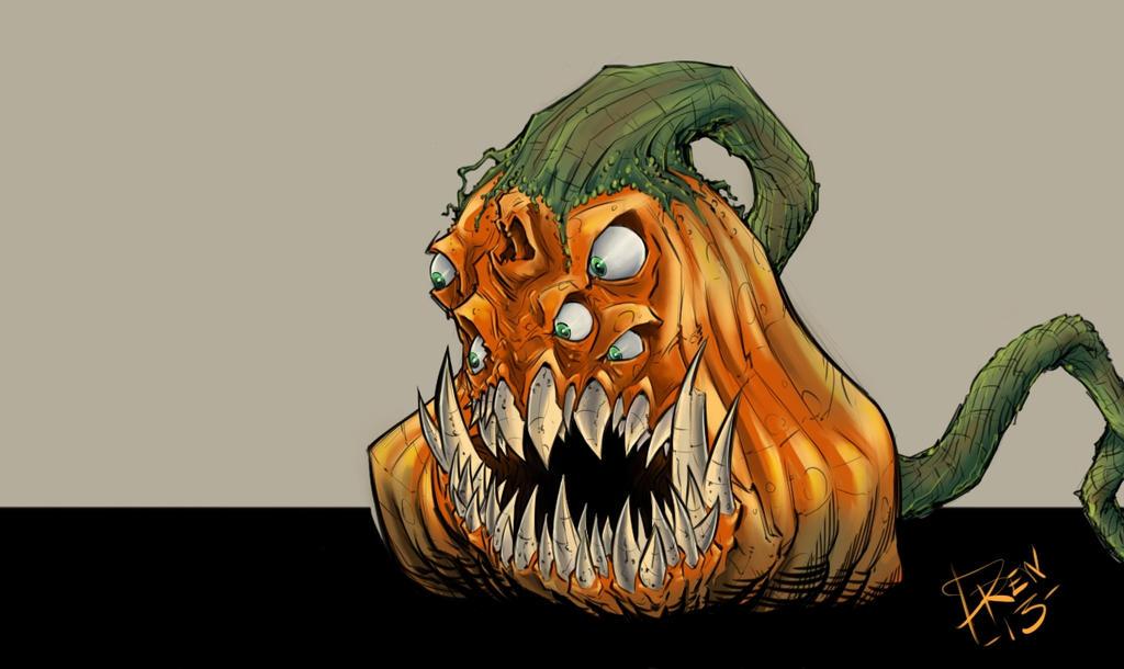 Monster Pumpkin by AndrewFroedge on DeviantArt