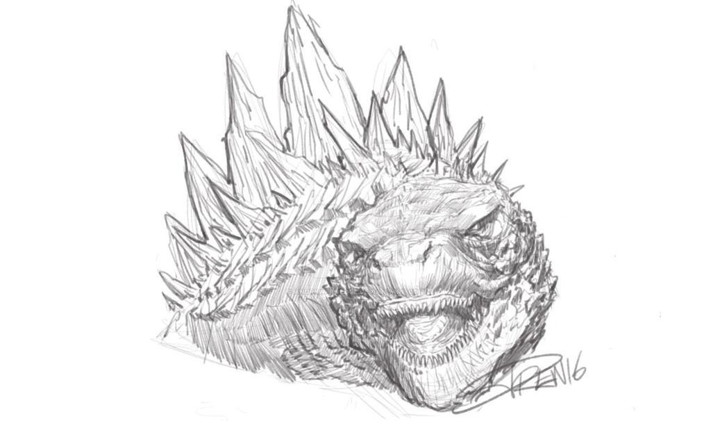 Godzilla 2014 by AndrewFroedge