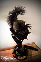 Brocade Mini Top Hat by apatico