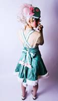 Pink x Green Lolita 2