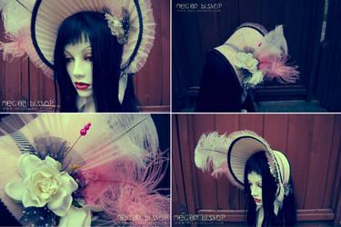 Pink x Striped Pop Bonnet by apatico