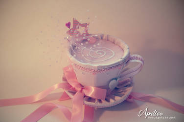 Pink Teacup Hat by apatico
