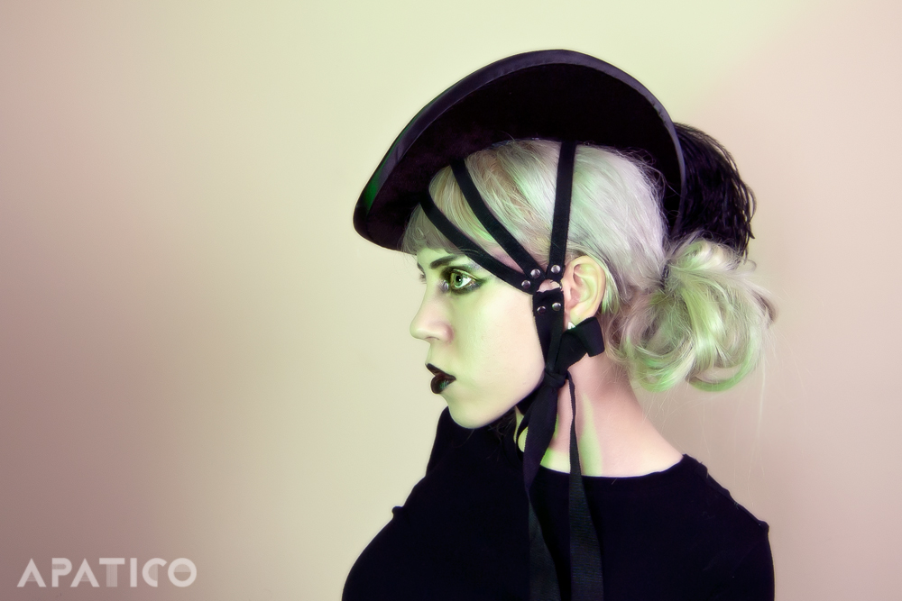 Gothic Harness Hat by apatico
