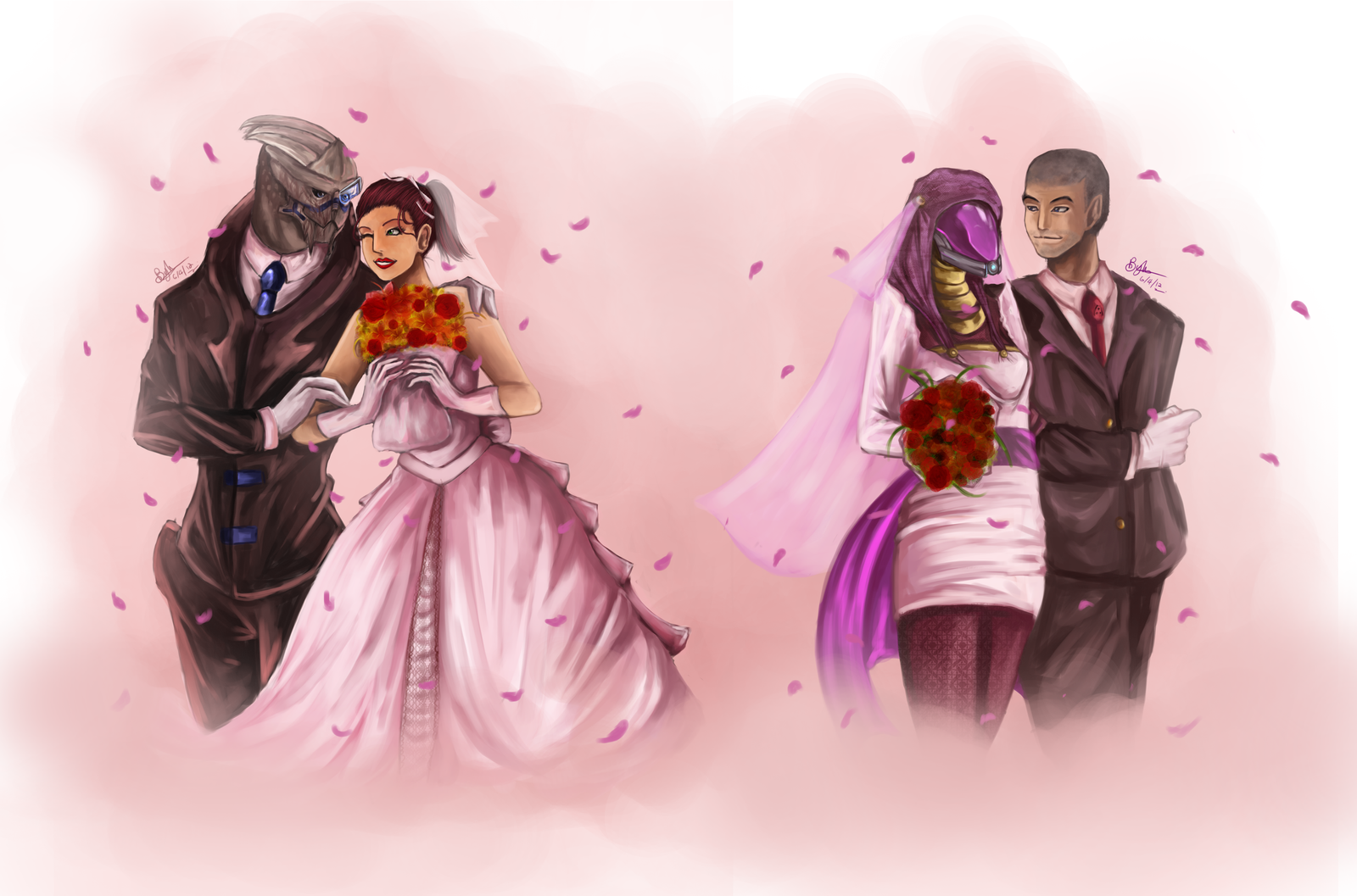 Newly Weds by Beverii