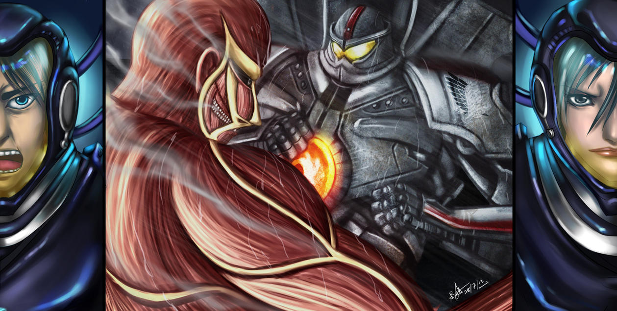 Attack on Pacific Rim by Beverii on DeviantArt