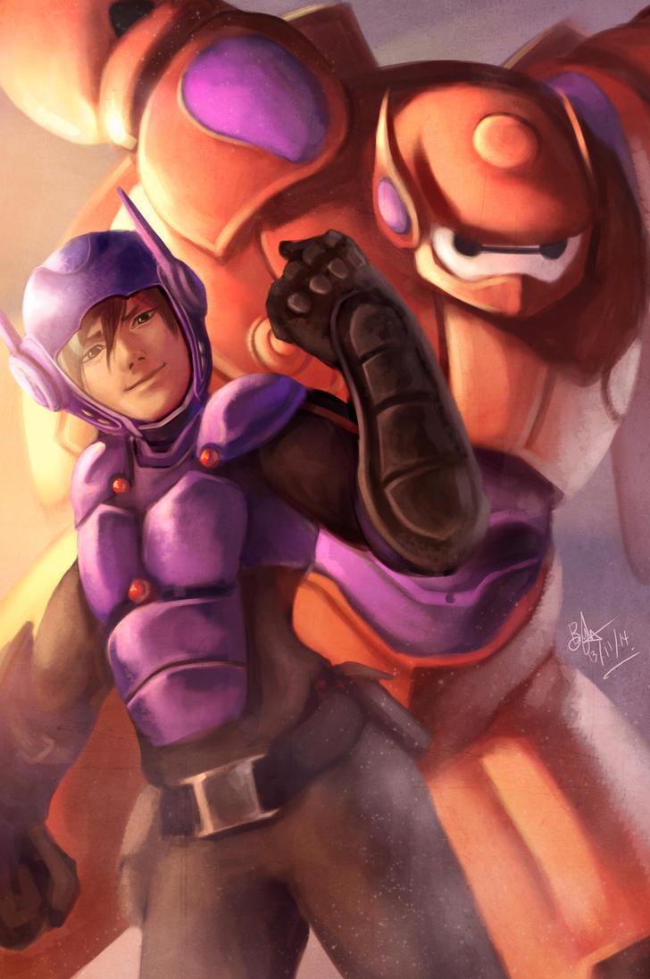 Big Hero 6 by Beverii