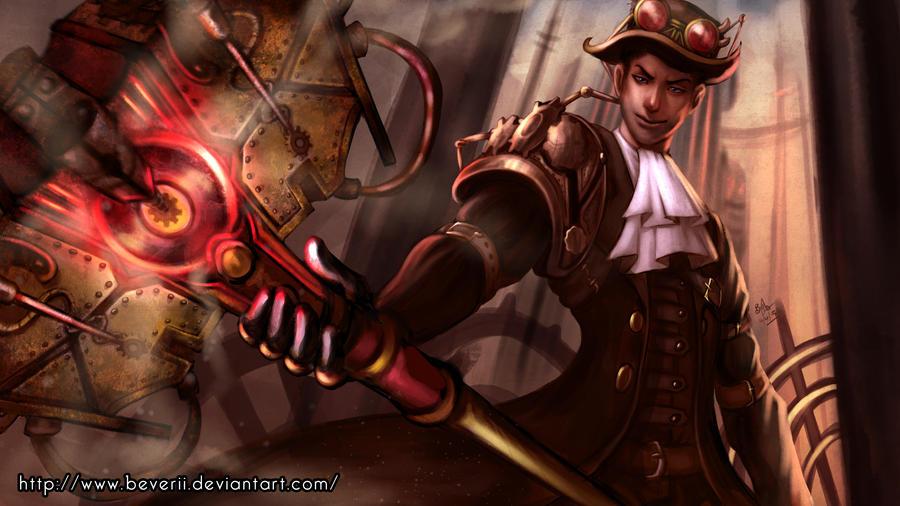 Steampunk Jayce by Beverii