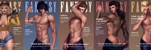 (Final) FANTASY (XV) Magazine by Beverii