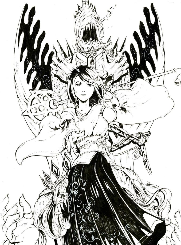 Yuna by Beverii