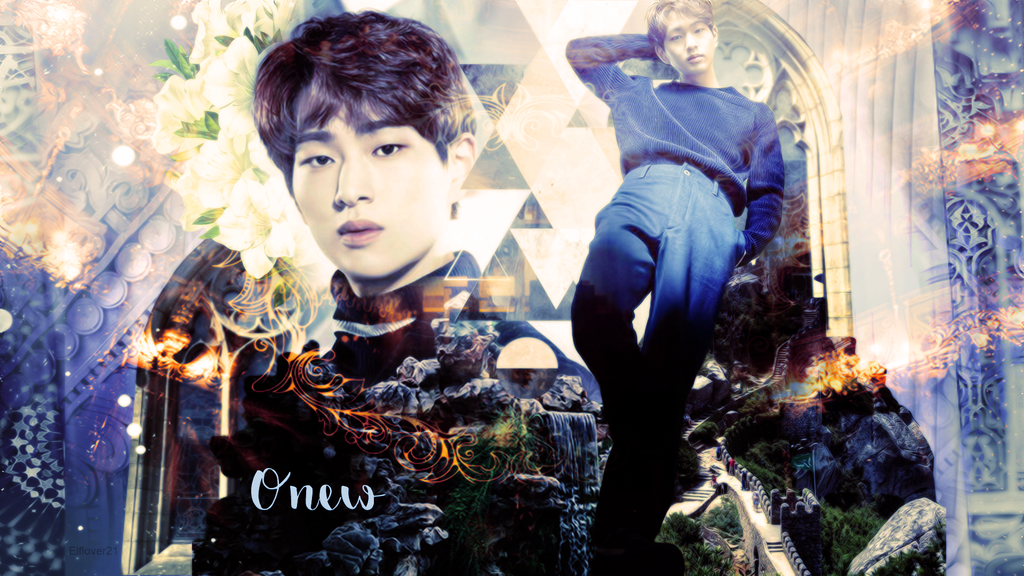 Anniversary Wallpaper - Onew by Elflover21