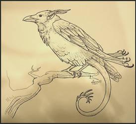 Raven Dragon by SageKorppi