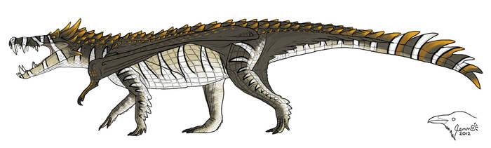 Barlow - Dracosuchus by SageKorppi