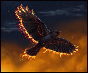 Ember Crow by SageKorppi