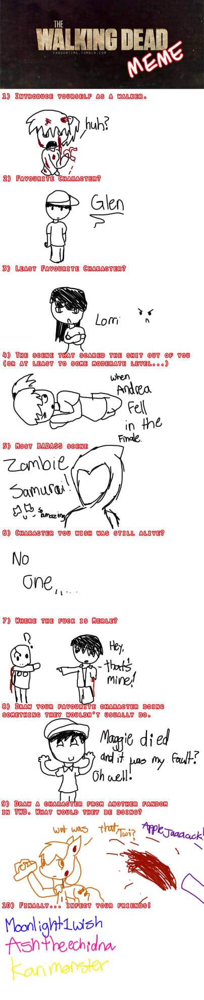 Walking Dead meme by SevurXKur
