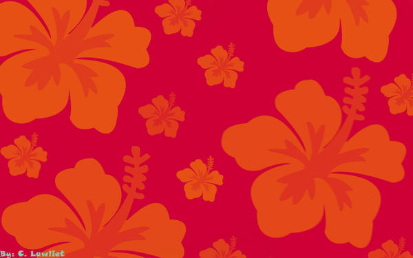 Hibiscus Wallpaper V1 By CLawliet