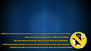 Zero Punctuation Blue -quoted- by nrutter2000