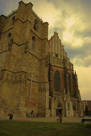 Basilica of st.James and st.Agnes in Nysa - Poland by Wodzionka81