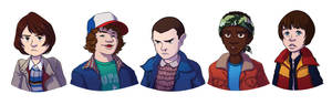 Stranger Things Busts