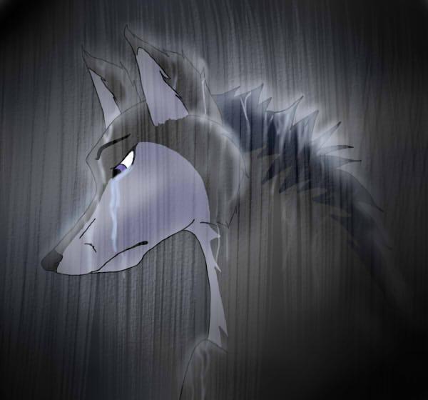 более картинка плачущий волк вейланд
