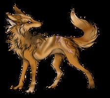 canine adopt by BlackLightning95