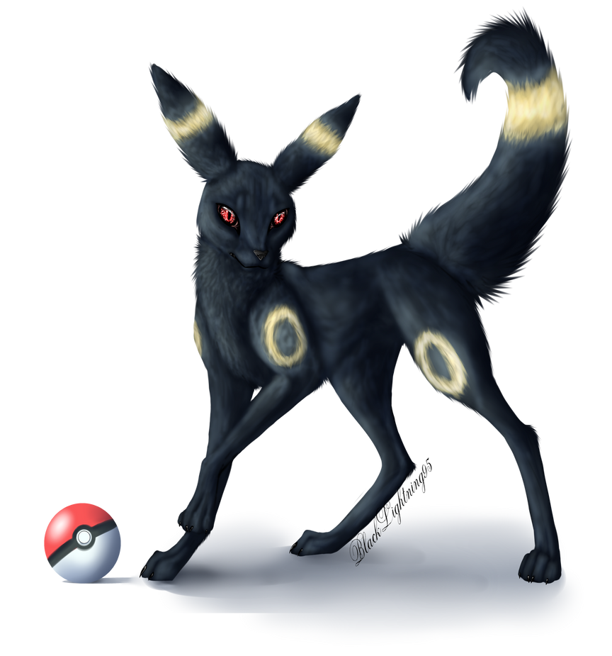 Umbreon by BlackLightning95