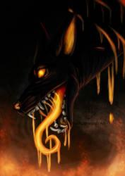 Burning by BlackLightning95